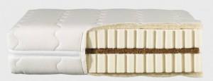 Die Royal-Latex-Matratze von TraumKonzept mit einer Schicht Latex,für einen guten Schlaf.